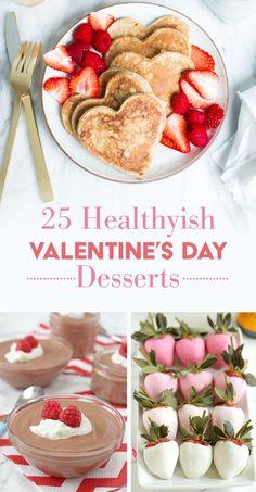 25 Healthyish Desserts For Valentine's Day