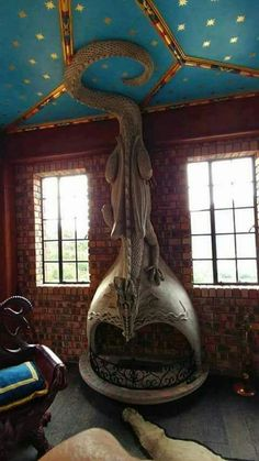 Steampunk DIY project ideas decor and clothing Mari . Steampunk DIY project ideas decor and clothing Mari . Dragons, Fire Breathing Dragon, Deco Originale, Fire Dragon, Dragon Egg, Steampunk Diy, Steampunk Bedroom, Steampunk Home Decor, Steampunk Clothing