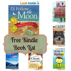 Free Kindle Book List: I'll Follow the Moon, Wolves, My Funky Pet Monkey, and More