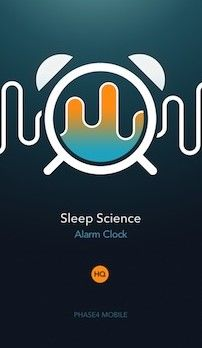 Alarm Clock App Sleep Science HQ Is Pretty but Quiet