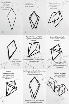 Bilderesultat for himmelin teko-ohjeet Hobbies And Crafts, Diy And Crafts, Diy Projects To Try, Craft Projects, Straw Art, Straw Crafts, Deco Luminaire, Creation Deco, Wrapping Ideas