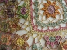 Lace crochet inspiration - Sophie Digard by 5buglets