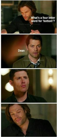 Dean is bottom!