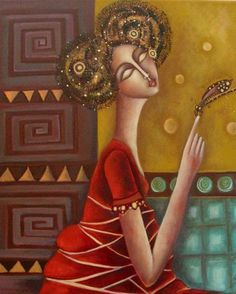 by Ingrid Tusell Business Illustration, Illustration Art, Expressionist Artists, Expressionism, Arte Pop, Collage, Figure Painting, Painting People, Art Portfolio