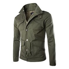 Men's Fall Slim Fit Trench Thick Military Rider Jacket SR... https://www.amazon.com/dp/B00Z6TG9EG/ref=cm_sw_r_pi_dp_x_wFg7xbNQTSV30