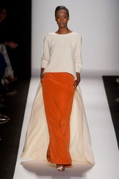 Carolina Herrera Spring 2014 is the ultimate in elegance. #nyfw