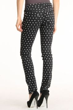 Polka Dot Jeans... love these !!!