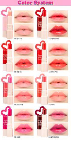 ¡Quiero mis labios así de dulces! ¡Quiero todos esos labiales Koreanos! #makeyap #makeup #girly