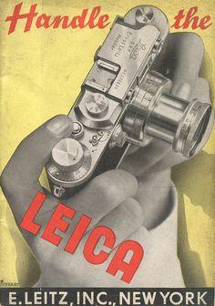Leica. http://www.codex99.com/photography/images/leica/catalog_1938_lg.jpg