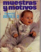 "Gallery.ru / tymannost - Альбом ""Muestras y Motivos Especial Bebes 2"" Baby Knitting Patterns, Baby Patterns, Crochet Patterns, Knitting Books, Crochet Books, Knitting For Kids, Knitting Magazine, Crochet Magazine, Crochet Baby"