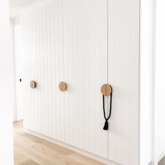 Storage is something we're kinda passionate about here we truly believe you can never have enough storage. Wardrobe Handles, Wardrobe Doors, Built In Wardrobe, Closet Door Handles, Closet Doors, Cupboard Design, Pantry Design, Home Bedroom, Bedroom Decor