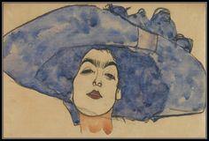 Egon Schiele - Portrait d'Eva Freund