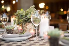 Eco-Chic Centerpiece from Bloominous.com | DIY Flowers Made Easy.  Dance the night away!