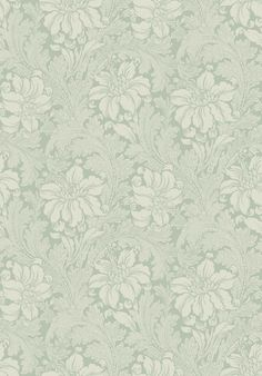 The wallpaper Chrysanthemum - 212546 from William Morris is wallpaper with the dimensions m x m. The wallpaper Chrysanthemum - 212546 belongs to the p Wallpaper Layers, Neutral Wallpaper, Silver Wallpaper, Fabric Wallpaper, Wallpaper Decor, Wallpaper Ideas, Nina Campbell, William Morris, Morris Tapet