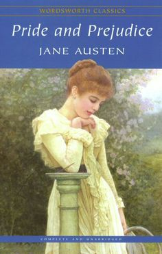 Pride and Prejudice by Jane Austen. Classic.