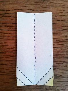 うっとりがみ 基本形2の折り方   透かし折り紙研究部★うっとりがみ