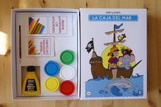 La Caja del Mar de Saru and Shira, educational toys, juegos educativos Saru and Shira.