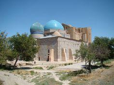 Shrine ( Mausoleum ) of Ahmad Yasavi, Turkestan , Kazakhstan 1394