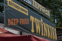 Fried Food Stand at the Minnesota State Fair in St. Paul, MN