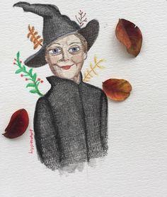 Merudemirci — #watercolor #polychromos #illustration...