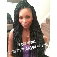 Crochet Styles With Xpression Hair : twist large by outrE xpressions more braids hairstyles black style ...