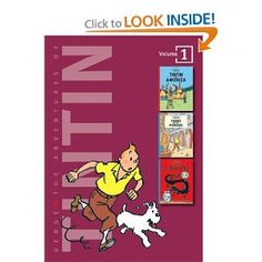 Hergé - The Adventures of Tintin: 3-in-1: Volume 1 (find larger sized versions?)