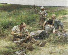 Léon Lhermitte, La Fenaison (1887), Van Gogh Museum, Amsterdam