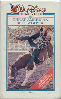 The Great American Cowboy (1973) Documentary Film: A rare film that doesn't seem to have made the transition from VHS videotape to DVD... #documentaries