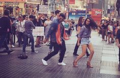 Actor Arjun Kapoor says he has ticked dancing Bollywood style on the streets of…