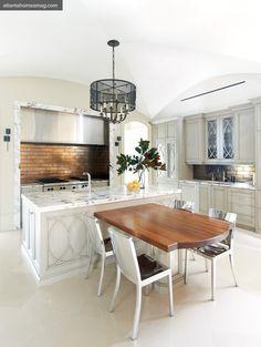 Design Galleria Kitchen & Bath Studio - winning kitchen design. Faucets by Dornbracht through Renaissance Tile & Bath Atlanta.