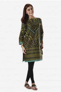 Khaadi - Short Kurta Available in stores & online. Shop online: www.khaadi.com
