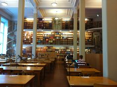 Carolina Rediviva Library, Sweden    I was thinking of having Yu study in a prestigious international boarding school with Western roots to contrast with the Eastern themes throughout the game.
