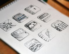 "Check out new work on my @Behance portfolio: ""Hand Drawn Icons"" http://on.be.net/1lhgnjz"