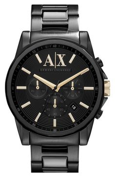 AX Armani Exchange 'Active' Chronograph Bracelet Watch available at #Nordstrom