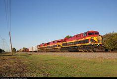 RailPictures.Net Photo: KCSM 4511 Kansas City Southern de Mexico GE AC4400CW at Plano, Texas by David Hawkins