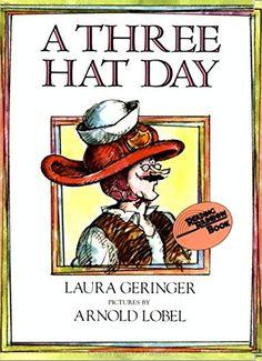 A Three Hat Day (Reading Rainbow Books) by Laura Geringer http://www.amazon.com/dp/0064431576/ref=cm_sw_r_pi_dp_4OQnwb1DAXGPZ