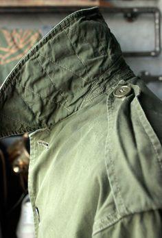 Deadstock Belgian Army Windproof Coat.