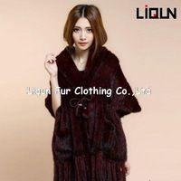 LIQUN TOP quality 2014 New Fashion Genuine Knitted Mink Fur Coat/Outwear/Shawl    http://www.aliexpress.com/store/product/LIQUN-TOP-quality-2014-New-Fashion-Genuine-Knitted-Mink-Fur-Coat-Outwear-Shawl/334917_1697416978.html