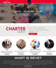 Reve Fitness Website Design and Development