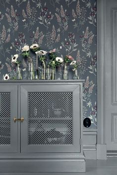 Welcome to Sandberg Wallpaper. We are a Swedish design company specialising in designer wallpaper and home accessories. Visit our site to browse the full collection of Sandberg wallpapers and find your nearest stockist. Hallway Wallpaper, Bedroom Wallpaper, Inspirational Wallpapers, Interior Decorating, Interior Design, Swedish Design, Steel Doors, Built In Storage, Interior Inspiration
