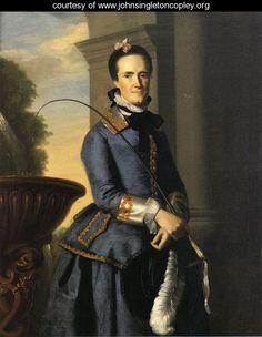 """""""Mrs. Epes Sargent (Catherine Osborne),"""" 1764"""