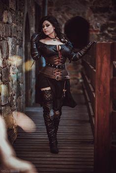 Image result for yennefer cosplay gloves