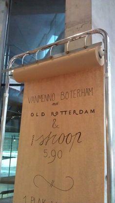 menu/specials, pinned by Ton van der Veer