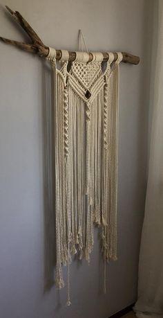 Boho style handmade wallhanging | Etsy