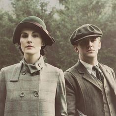 I so covet Mary's hat. I wouldn't mind having the jacket, either.