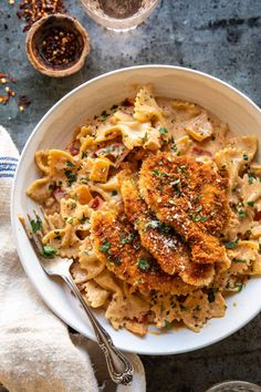 Come Reza Ama, Chicken Parmesan Pasta, Creamy Cajun Chicken Pasta, Pasta With Chicken, Homemade Chicken Parmesan, Chicken Pasta Dishes, Cajun Shrimp Pasta, Creamy Pasta Recipes, Pasta Dinner Recipes