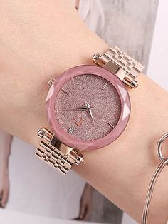 Rose gold Pink Leather Strap Women's Rose gold Pink Leather Strap Women's Watch Rose gold Pink Leather Strap Women& Watch – ZALLURE Stylish Watches For Girls, Trendy Watches, Cute Watches, Popular Watches, Cheap Watches, Elegant Watches, Beautiful Watches, Modern Watches, Casual Watches