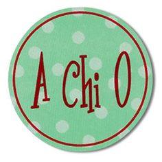 Bumper Sticker – Alpha Chi Omega / AA1022 | GREEK GALLERY