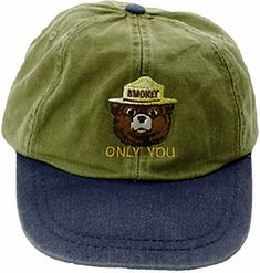 Same as our adult Embroidered Stonewashed Cap but smaller to better fit young children. All Is Vanity, American Meadows, Smokey The Bears, Hat Patches, National Park Posters, Embroidered Caps, Vintage Campers, Cup Holders, Happy Campers