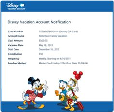 Save for Your Next Disney Vacation with a Disney Vacation Account
